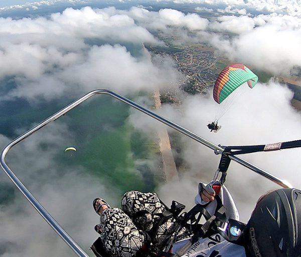 Lot motoparalotnią Trzęsacz / Rewal