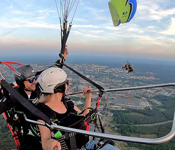 Lot motoparalotnią Zielona Góra - dla par